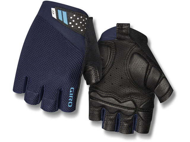 Giro Monaco II Gel Gants Homme, midnight blue/iceberg